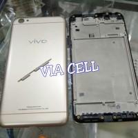 BACKDOOR BACK COVER TUTUP BELAKANG CASING + FRAME LCD BAZEL VIVO Y53
