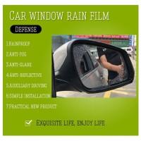 Sticker Film Kaca Spion Anti Hujan Rainproof Waterproof Antifog