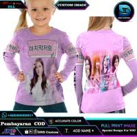 T-shirt Kaos Anak Fullprint Blackpink Art2 Gokil