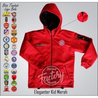 jaket anak eleganter ada logo bayern muncen