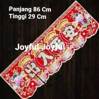 Hiasan Tempelan Imlek Banner