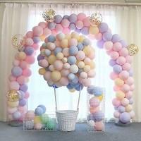 Balon isi 50 Pcs Macaron 5 Inch / Balon Warna Warni / Balon Pastel