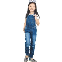 overall jeans celana panjang levis jumpsuit/baju kodok anak perempuan