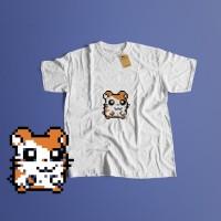 K/31 Kaos kartun Cartoon Hamtaro Hamster 90an 90`s T-shirt (5 Colours)