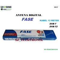 ANTENA LUAR DIGITAL TV / ANTENNA OUTDOOR DVB T2 FASE + KABEL 13 METER