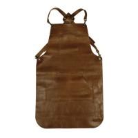 Otten Coffee Apron Leather Light Brown - Apron Barista