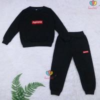 Setelan Atta Kids 7-8 Th / Sweater + Jogger Celana Baju Lengan Panjang