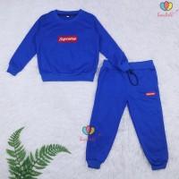 Setelan Atta Kids 8-9 Th / Sweater + Jogger Celana Baju Lengan Panjang