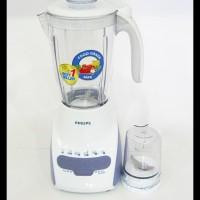 Promo Philips Hr2115 White Blender   Gelas Plastik 2L 600W Hr 2115
