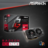 VGA ASROCK Phantom Gaming D Radeon RX570 4GB - RX 570 4 GB GDDR5