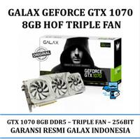 GALAX nVidia Geforce GTX 1070 HOF HALL OF FAME 8GB DDR5 - TRIPLE FAN