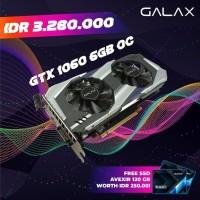 PALING LARIS GALAX nVidia Geforce GTX 1060 OC OVERCLOCK 6GB DDR5 Dual