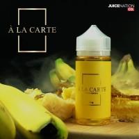 A LA CARTE - Cream Banana - 100ml 3mg 6mg liquid lokal vaporizer vape