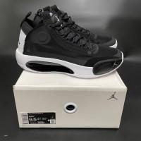 Sepatu Basket Nike Air Jordan 34 Eclipse / Jordan XXXIV Black White