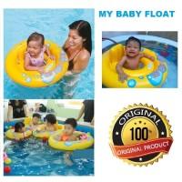 pelampung berenang bayi murah my baby float swim trainer Intex 59574