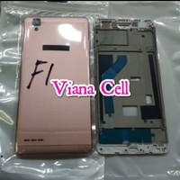 BACK DOOR BACKDOOR FRAME LCD CASING FULLSET OPPO F1 F1F ORI GOLD