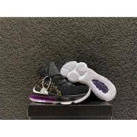 sepatu basket anak nike lebron 17 black purple gs kids youth