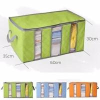 Kotak Penyimpanan Storage Box 65 Liter Bamboo Charcoal Clothing 3 Laye