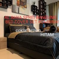 BED COVER SET POLOS KOMBINASI 180X200 - 160X200-120X200 - SEMUA UKURAN