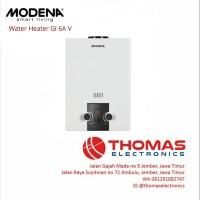 Water Heater Modena GI 6 AV - Pemanas Air Gas Modena