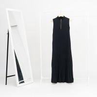 Inner Dress plisket busui friendly with zipper