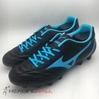 Sepatu Bola Mizuno Original Monarcida Neo Select Black Blue P1GA192525