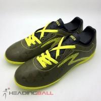 Sepatu Futsal Specs Original Quark IN Olive Zest Green 400778 BNIB .