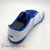 Sepatu Futsal Lotto Original Squadra IN White Dawn Blue L01040012 BNIB