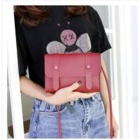 T583 Tas Selempang Handbag Mini Candy Color NEW FASHION WANITA KOREA - Hitam
