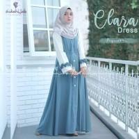 Clara dress baju gamis pakaian muslim baju wanita gamis dewasa