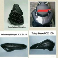 PAKET HEMAT CARBON HONDA PCX 150 LOKAL AKSESORIS PCX VARIASI MOTOR