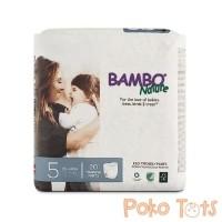 Bambo Nature Training Pants Junior Size 5 Organic Diapers Popok Celana