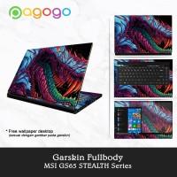 Garskin Laptop Sticker Laptop Msi GS65-9SE GS65-9SF GS65-9SG Fullbody