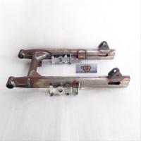 swing arm C70 grand prima model pipa oval set dengan setelan rantai