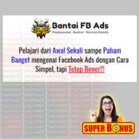 Buku Social Media BANTAI FB ADS Tutorial Formula 3 Masketir Facebook