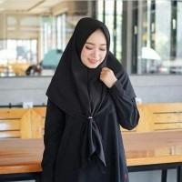 Jilbab SEGITIGA SAUDI INSTAN DIAMOND segi tiga ASRI Hijab Instant FIX