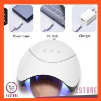 Pengering Kutek Kuku Gel Nail Art 36W Smart Portable Lampu UV LED YZ23