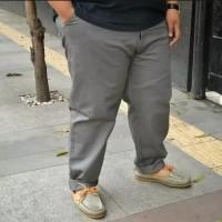 Celana chino panjang pria / celana chino super jumbo big size 36-42