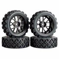 1pcs velg + ban offroad rally RC 1/10 1/18 vrx HSP LRP kyoso hpi TM