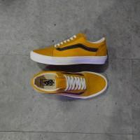 Sepatu Vans OLD SKOOL LX OLD GOLD / BLACK.