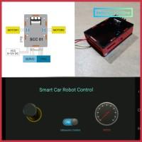 Smart Car Robot Controller, Bluetooth Android - Arduino Robot Control