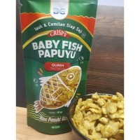 ikan crispy Rasa Gurih / cemilan / baby fish papuyu - GURIH