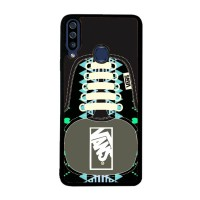 Hardcase Samsung Galaxy A20s Vans SHoes Aztec Pattern BLACK J0209