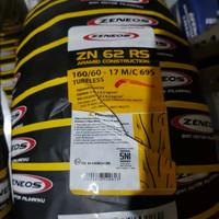 BAN LUAR ZENEOS ZN62 UKURAN 160/60-17 TUBELESS
