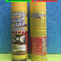 NEW Waxco Tough Stain Cleaning Foam Pencuci kotoran unt