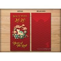 Jual Angpao / Angpau / Ampau Imlek tahun 2020 Design B