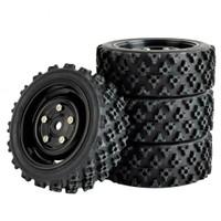1pcs velg + ban offroad buggy RC 1/14 ZD wltoys 144001 HSP remo vortex