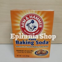 Arm N & Hammer Hamer Pure Baking Backing Soda Powder 454 gr - Tepung