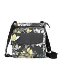 Sakroots City Sling Bag Slate Floral Blossom