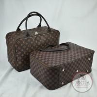 Premium - Tas travel bag / Koper baju / Tas baju / Tas tenteng kulit